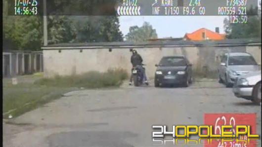 Próbował ucieczki motocyklem