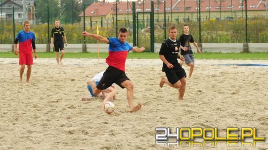 Weź udział w turnieju beach soccera