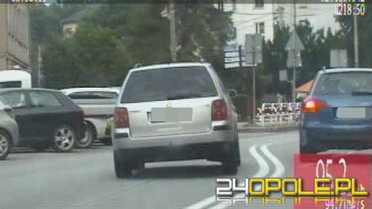 Pościg za pijanym kierowcą w Strzelcach Opolskich. Zobacz nagranie