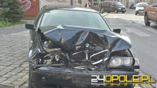 Pijany kierowca spowodował wypadek w centrum Opola
