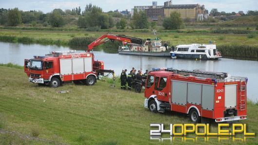 Na Odrze trwają strażackie manewry z ratownictwa wodnego