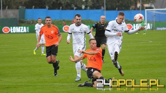 Legia Warszawa wygrała z Ruchem Zdzieszowice
