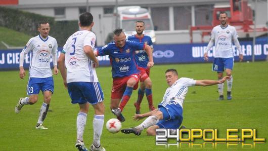 Odra wygrywa ze Stalą Mielec i jest liderem Nice 1 Ligi
