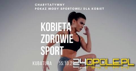 Charytatywny pokaz mody sportowej dla kobiet