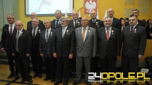 Zasłużeni działacze opozycji odznaczeni
