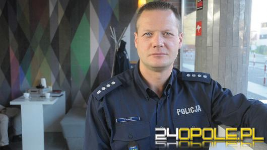 Nadkom. Hubert Adamek - opolska policja przyjmie kilkudziesięciu nowych funkcjonariuszy