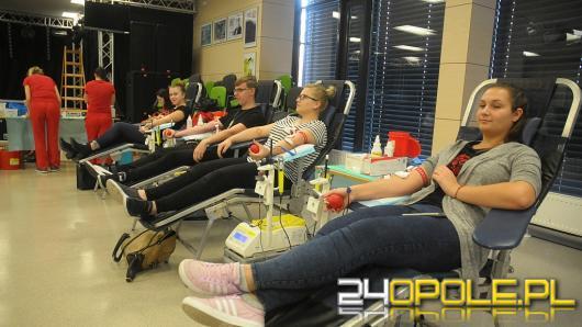 Studenci chętnie oddali krew potrzebującym