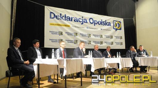 Pierwsza debata Deklaracji Opolskiej. Dyskusja o samorządności w cieniu powiększenia Opola