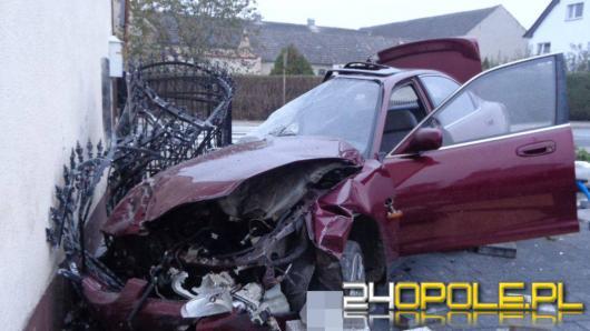 """""""Wydmuchał"""" prawie 2 promile, mówił że nie prowadził samochodu"""