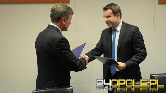 Komprachcice będą współpracować z Opolem.