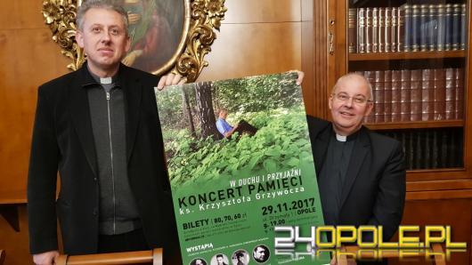 Koncert pamięci ks. Krzysztofa Grzywocza. Przedłużamy pamięć