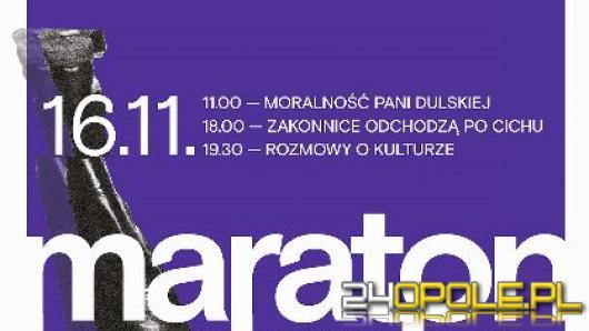 Dziś rusza I Opolski Maraton Teatralny