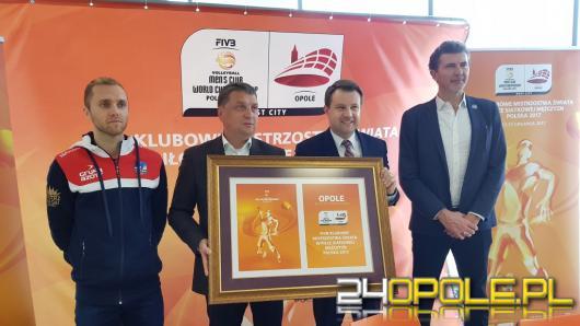 Opole jednym z trzech gospodarzy Klubowych Mistrzostw Świata w Siatkówce