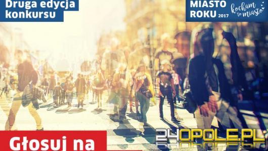 Opole nominowane w plebiscycie Kocham to Miasto - Miasto Roku 2017