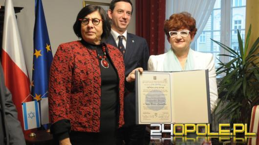 Śp. Irena Gumułka pośmiertnie uhonorowana obywatelstwem Państwa Izrael.