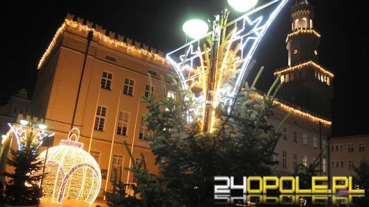 Opole pięknie przystrojone na Święta Bożego Narodzenia
