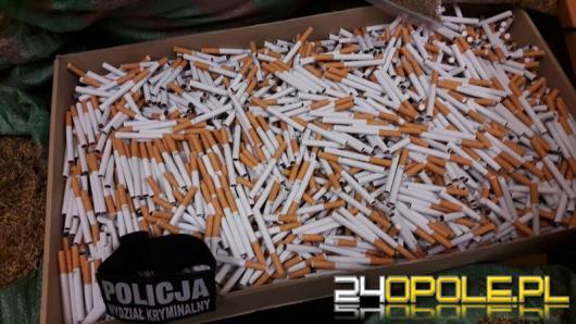 Nielegalny tytoń w mieszkaniu 60 latka