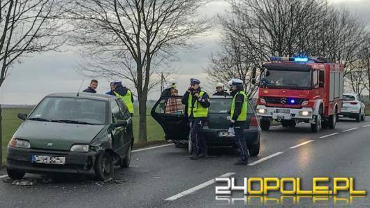 Kuniów - jedna osoba ranna w wypadku
