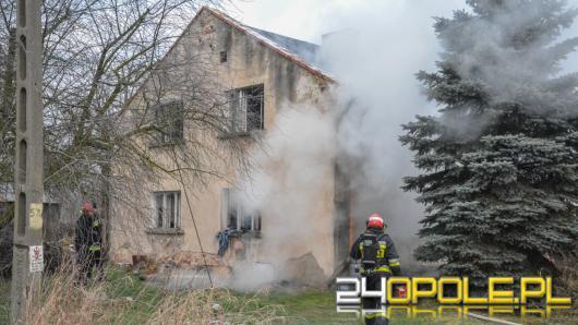 Łosiów, 70 letnia kobieta spłonęła w swoim domu.