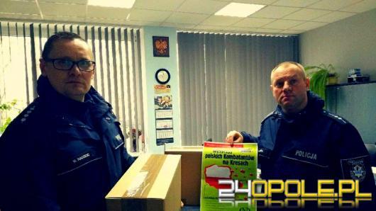 Policjanci z Grodkowa pomagają rodakom na Kresach