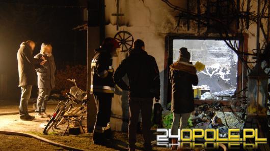 Chróścice: W pożarze spłonęły dwie osoby