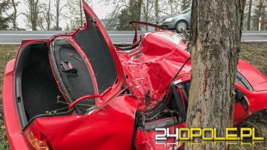 Kierowca Toyoty wygrał drugie życie, nie uniknął jednak mandatu