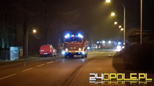Wyciek gazu w Grodkowie, ewakuowano blisko 40 osób