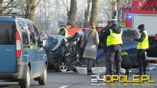 Tragiczny wypadek pod Opolem. Nie żyje 46-latek