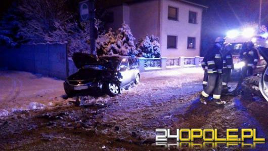 Kłodnica: Nieudane wyprzedzanie doprowadziło do czołówki. 4 osoby ranne
