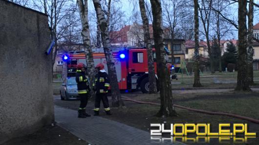Awaria instalacji elektrycznej przyczyną pożaru mieszkania w Kluczborku