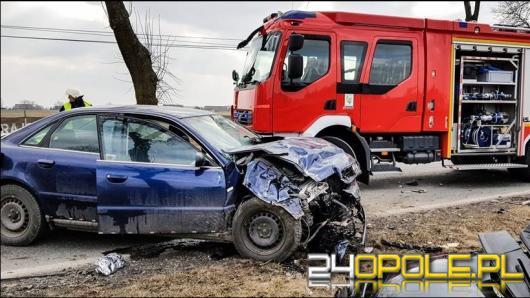 26-latek nie żyje po wypadku do jakiego doszło w Faustiance (powiat Oleski)