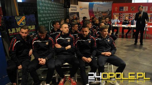 Odra Opole zaprezentowała swój skład. Już za tydzień mecz z Legnicą