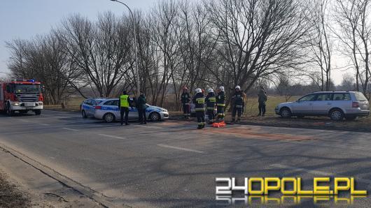 Zderzenie 3 samochodów w Opolu. Ranne 3 osoby