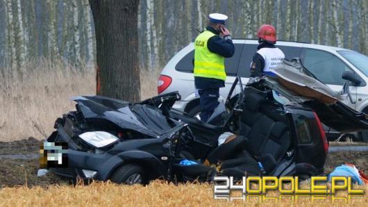 Tragiczny bilans po wczorajszym wypadku w Krępnej. Zmarła 39-latka kierująca fordem