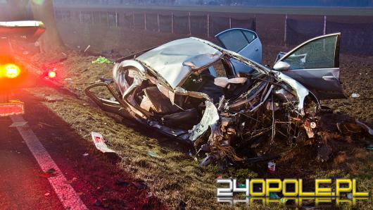 22-latek zginął w nocnym wypadku w Kuniowie
