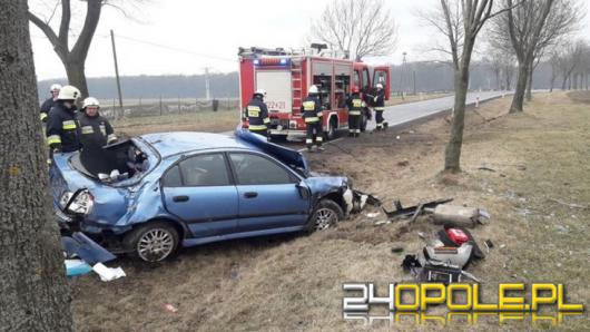 Tragiczny weekend w Opolskim. Pożary, wypadki i dwie ofiary śmiertelne