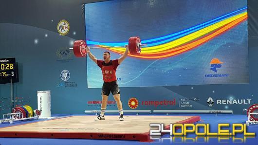 Arkadiusz Michalski mistrzem europy w podnoszeniu ciężarów!