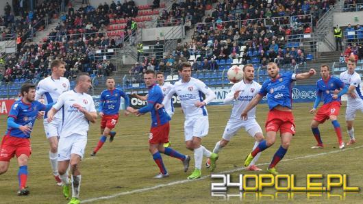 Odra przegrała z Zagłębiem 0:1