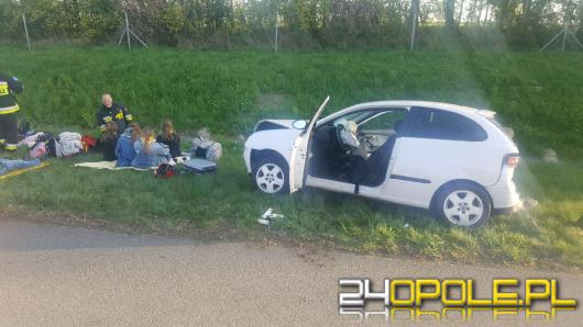 Zderzenie trzech pojazdów na A4 w kierunku Katowic, autostrada nieprzejezdna