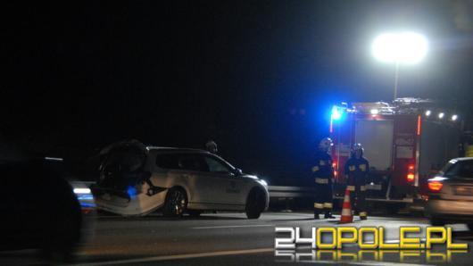 4 osoby ranne w wypadku do jakiego doszło na 267km A4 w kierunku Katowic