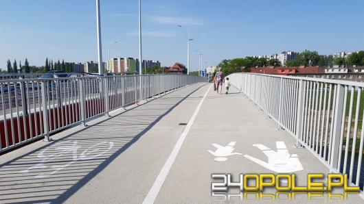 Kładka rowerowa gotowa ! Oficjalne otwarcie mostu na Niemodlińskiej już za tydzień