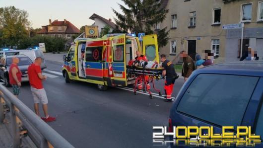 Kobieta prowadząca wózek została potrącona na przejściu dla pieszych
