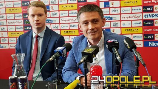 Odra Opole ma nowego trenera. Kontrakt został podpisany na 3 lata