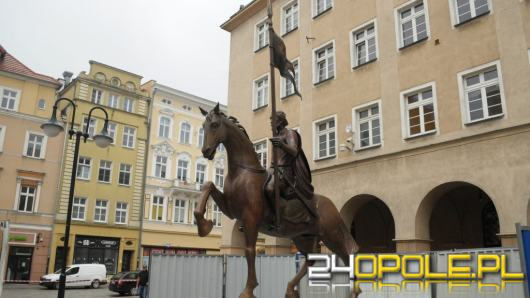 Pomnik Księcia Kazimierza I jest już na rynku