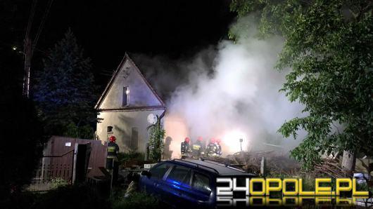 Pożar w domu jednorodzinnym w Opolu. Znaleziono ciało ofiary