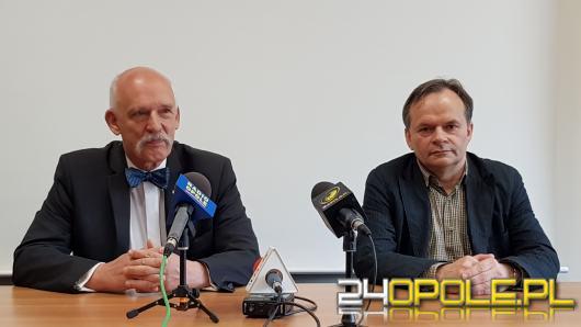 """""""Nic tak nie zabija, jak możliwość życia bez pracy"""". Janusz Korwin Mikke wizytuje na Opolszczyźnie"""