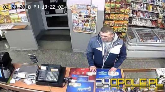 Ukradł ponad 2000 zł ze sklepu, szuka go policja