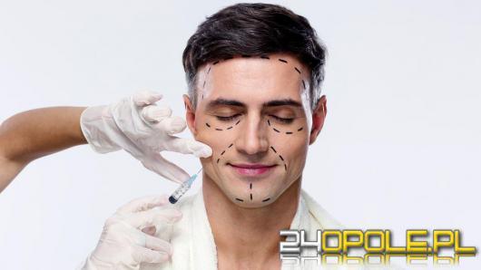 Co robi mężczyzna w gabinecie medycyny estetycznej?