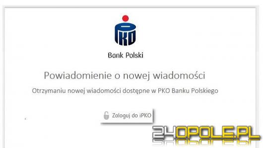 Niebezpieczne maile do klientów banku. Klikając w link wysyłamy pieniądze na konto przestępców