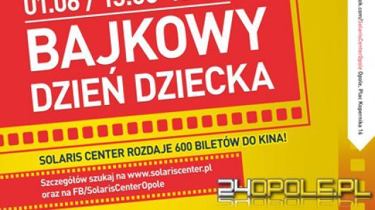 Solaris Center rozdaje 600 darmowych biletów do kina na Dzień Dziecka
